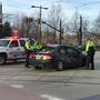 TRAX train and car collide in downtown Salt Lake City