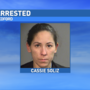 Police: Woman arrested on burglary and drug charges