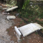 Nearly 30 headstones vandalized at Milton cemetery