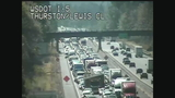 Deadly crash closes I-5 northbound at Grand Mound
