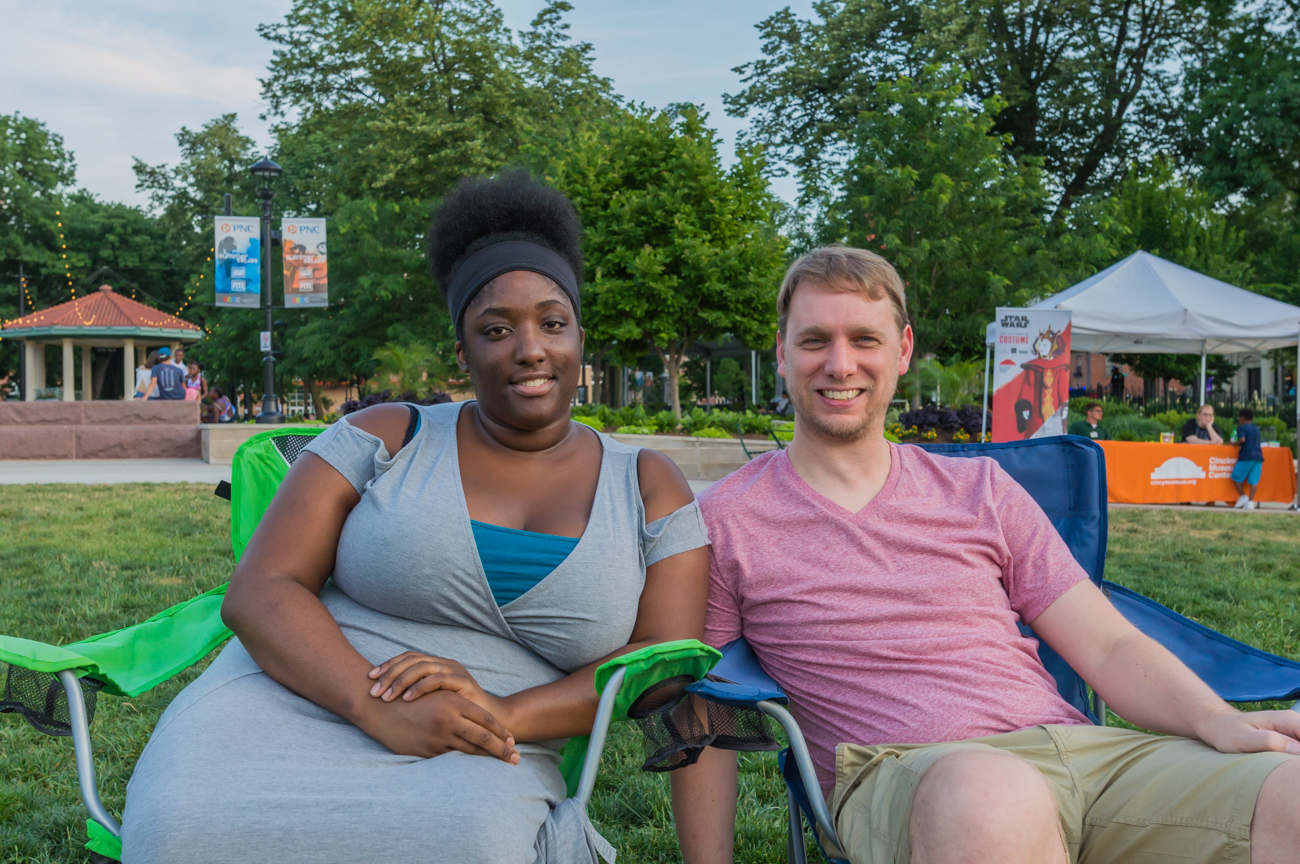 Shawnique Bland and Matthew Buchhelt / Image: Mike Menke // Published: 6.15.17
