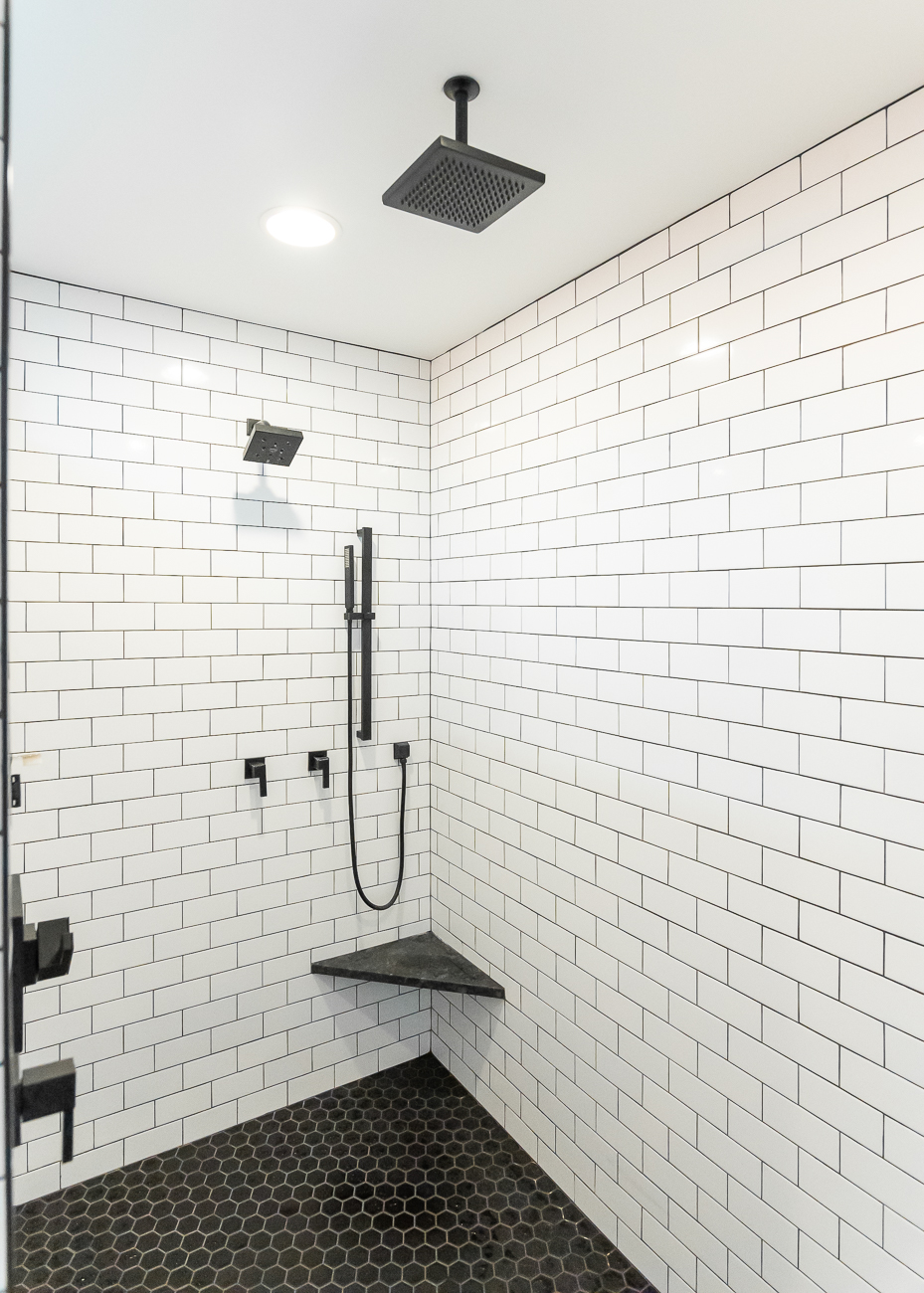 Shower stall / Image: Phil Armstrong, Cincinnati Refined // Published: 6.5.20