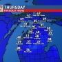 Mix of rain & snow Thursday