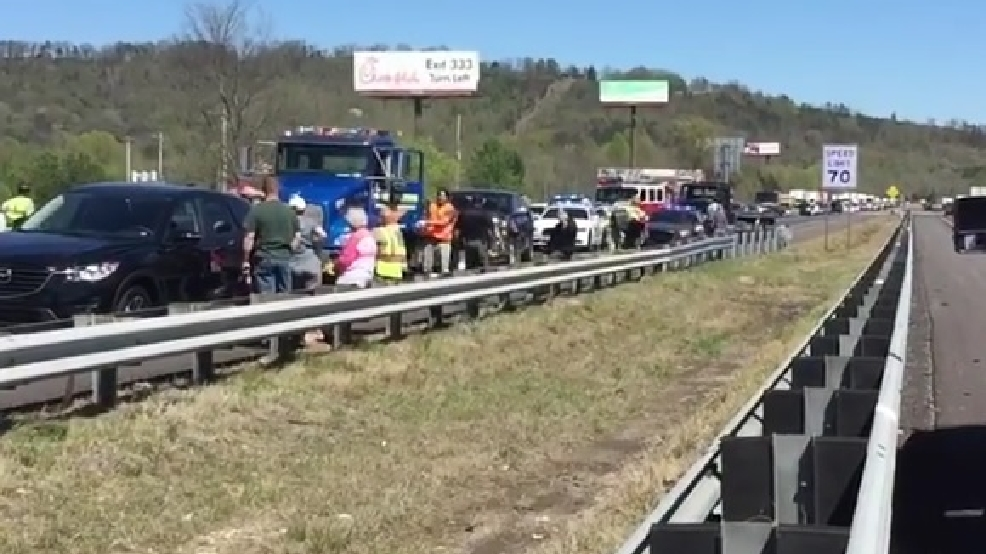 Traffic crash on I-75 in Catoosa County | WTVC