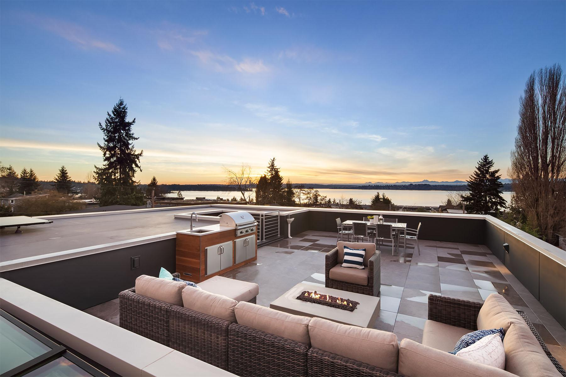 Listed by Rombakh Real Estate, the Houghton House in Kirkland is what dreams are made of (Image: Matthew Galant with Clarity Northwest)