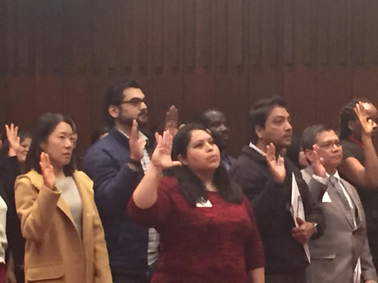 A special day for dozens of immigrants here in the Miami Valley as they were officially made U.S. citizens Feb. 16. (WKEF/WRGT)