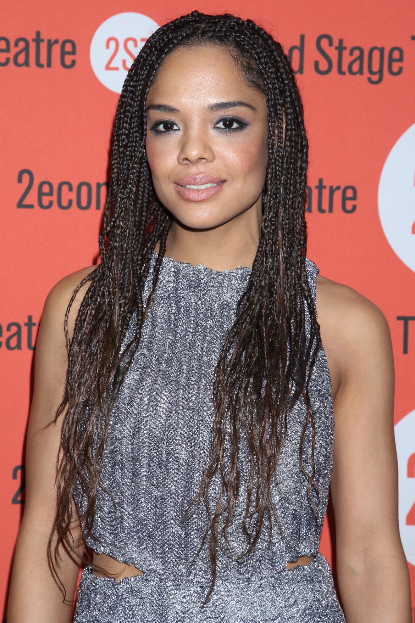Tessa Thompson at the opening night party for Smart People, held at the Yotel. (Joseph Marzullo/WENN.com)