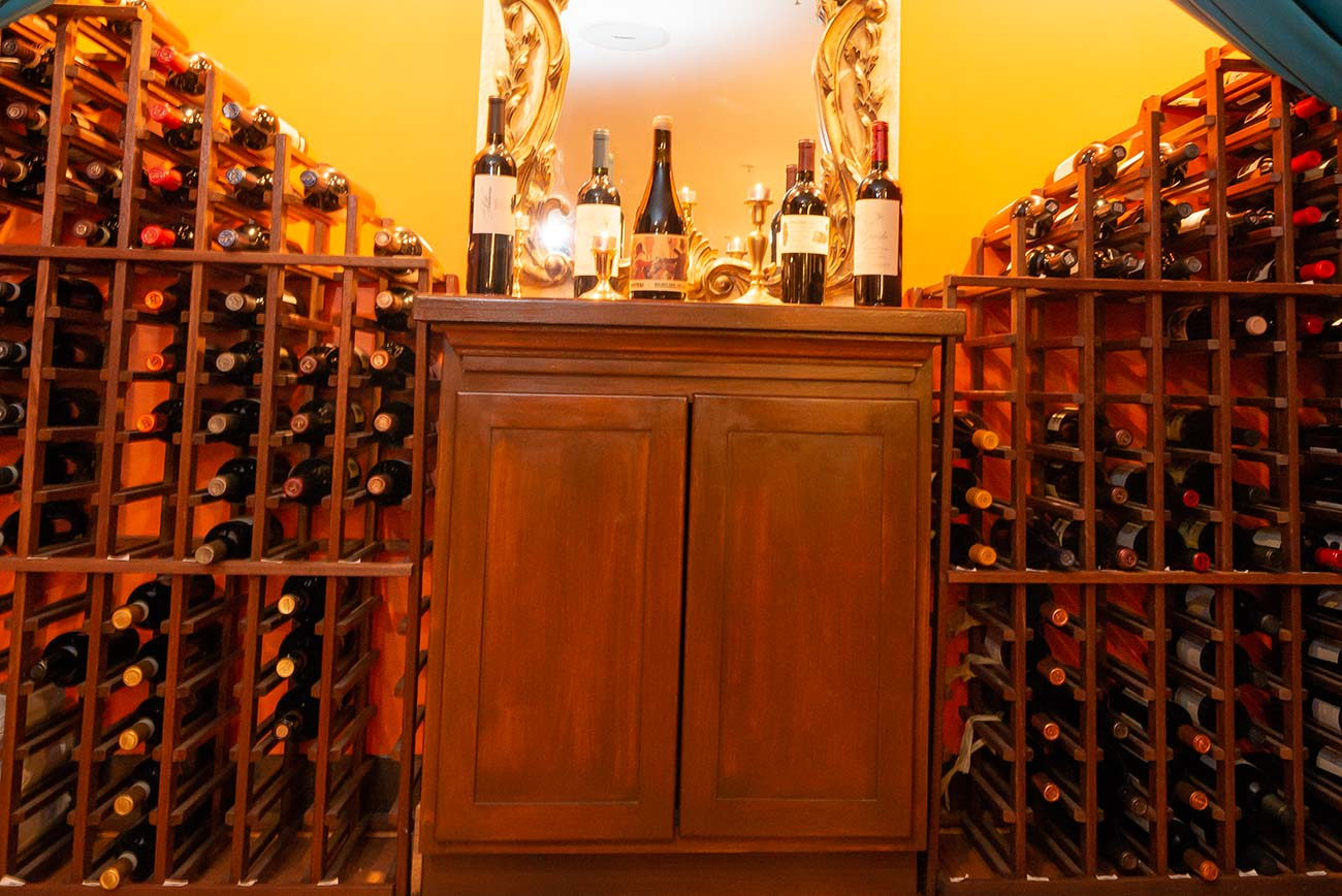 Alfio's carries a wide selection of fine wines. / Image: Joe Simon // Published: 6.25.20