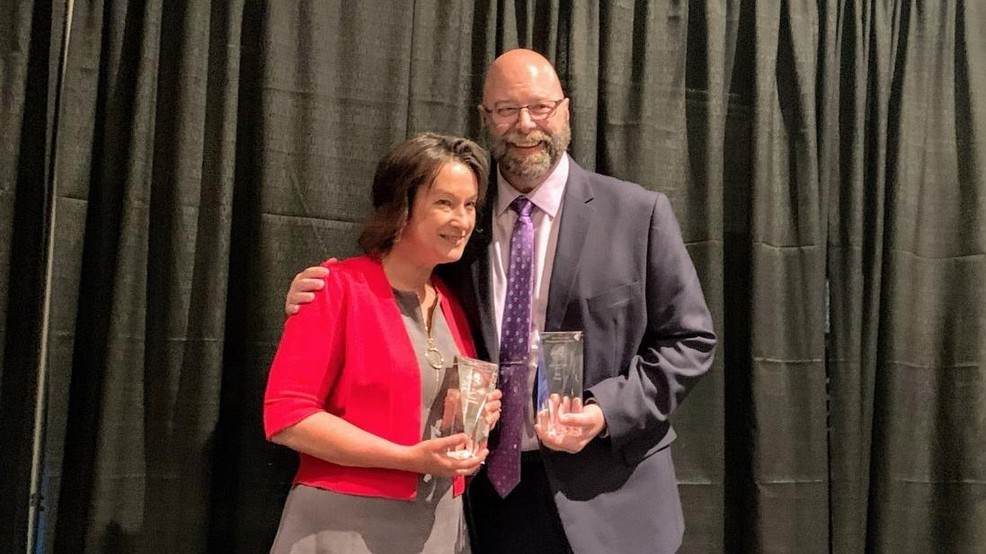 93Q's Ted & Amy inducted into New York State Broadcasters Hall of Fame