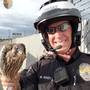 Nampa officer helps rescue young hawk unable to fly