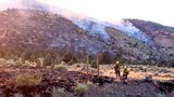 Voluntary evacuations for Slinkard Fire west of Topaz; U.S. 395 reopened at state line