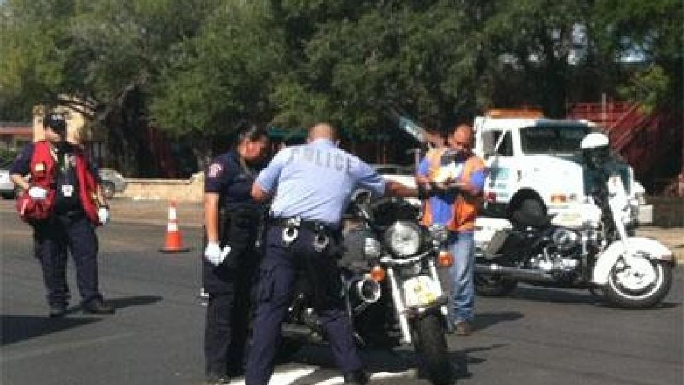 Mcallen Motor Sports >> Accident reported between car, McAllen police motorcycle | KGBT