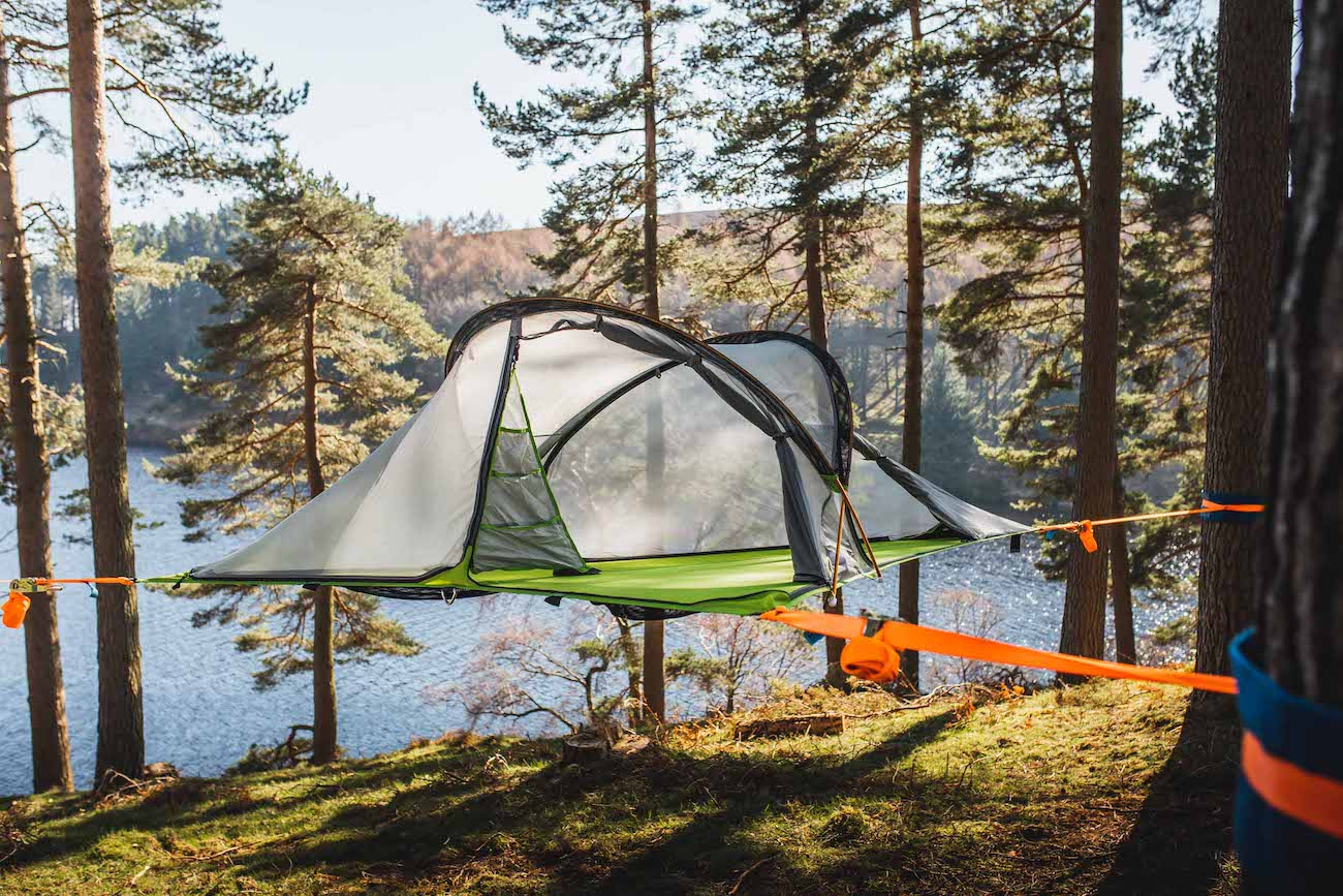 "<p>The Tentsile Connect 2-Person Tree Tent (3.0) is a hanging tree tent that will allow you and a friend to experience the outdoors like never before. It's simple to set-up, making it a great option for first-time tree campers, and the 4-season tent has an 880-pound weight capacity. It packs down into a single bag which can be worn as a backpack. /{&nbsp;}<a  href=""https://www.tentsile.com/"" target=""_blank"" title=""https://www.tentsile.com/"">Website{&nbsp;}</a>/ Price: $499 / Image courtesy of Tentsile // Published: 12.6.20</p>"
