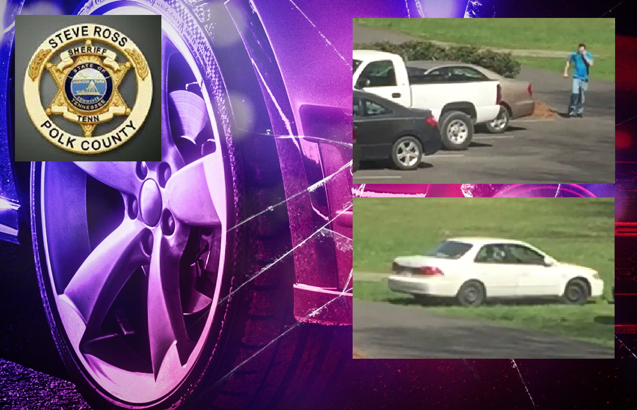 The Polk County Sheriff's Office (PCSO) is looking for a person accused of breaking into and stealing from a truck parked in a church parking lot on Easter Sunday. (Image: PCSO, Pixabay)