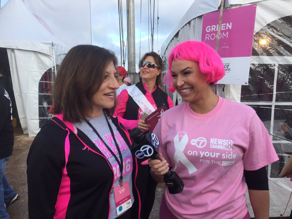 Susan G. Komen Race for the Cure, Saturday, May 7, 2016. (Becca McDevitt/ABC7)
