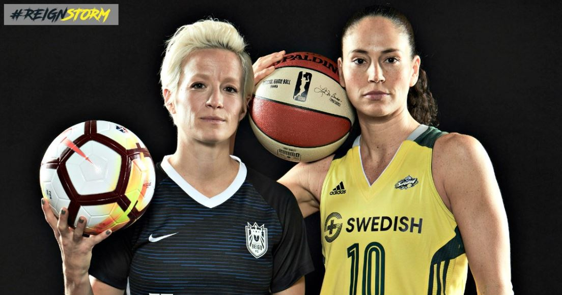 (Image: Seattle Reign / Seattle Storm)