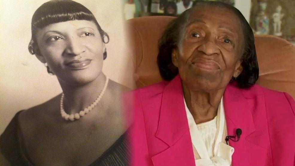 Ruth Mitchell - Photo from family members alongside a photo from her interview on February 4, 2018.jpg