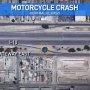 Motorcycle crash in Central El Paso sends one person to the hospital