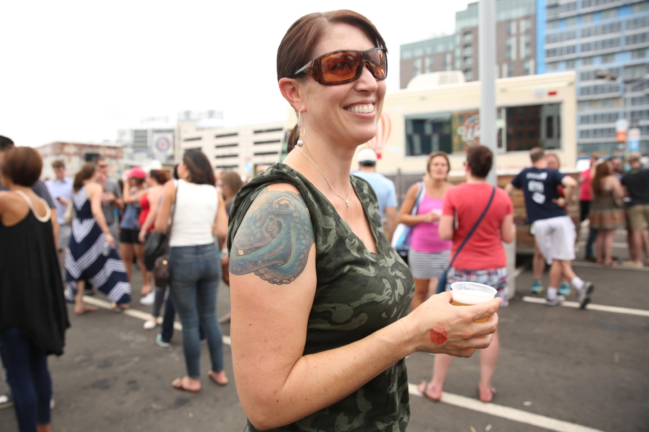 The District has a reputation for being a little conservative, but some of us rock a little ink under all those suits. Here's some of D.C.'s body art in all of its glory. (Amanda Andrade-Rhoades/DC Refined)