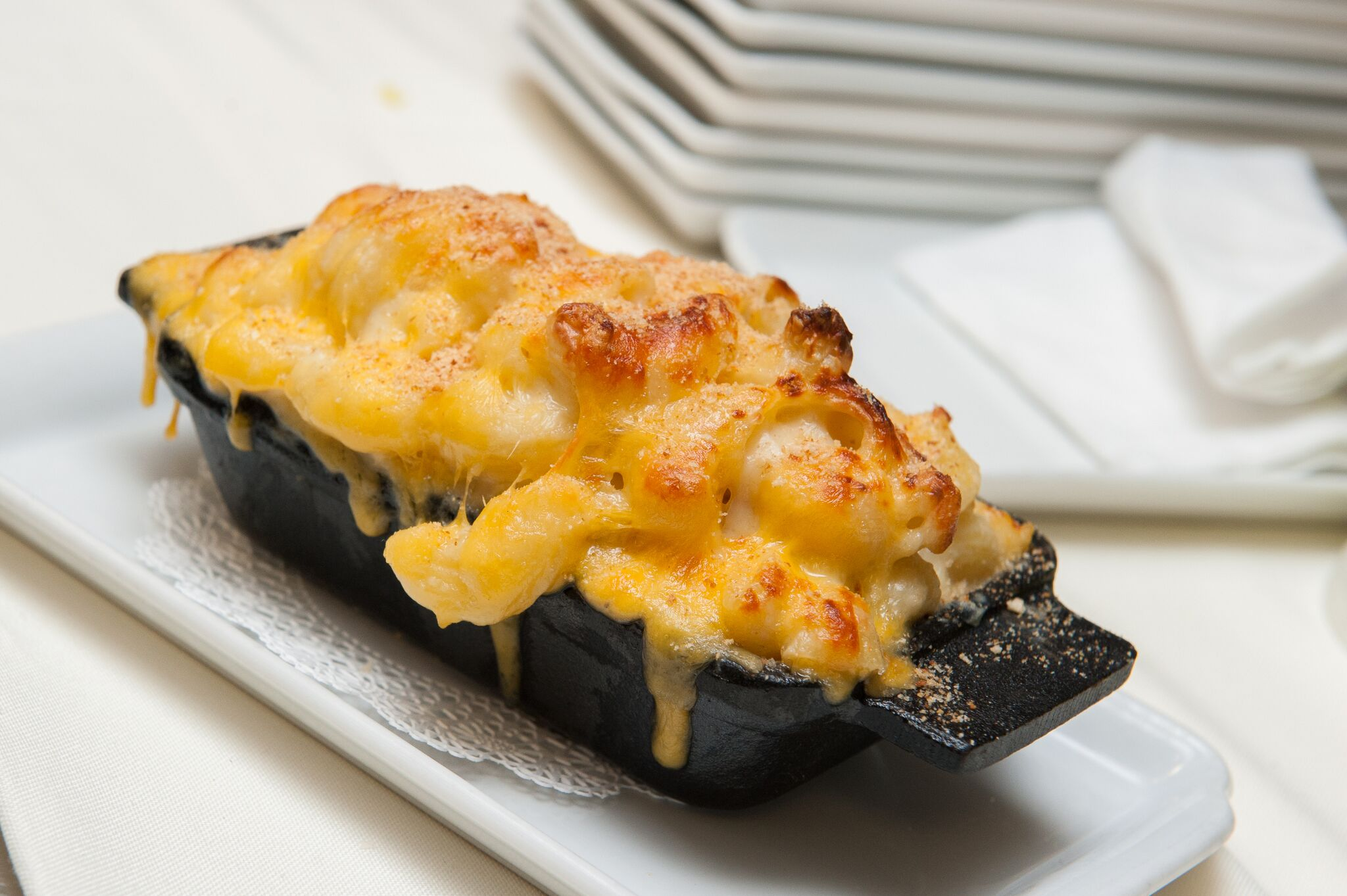 Truffled Mac and Cheese at Equinox Restaurant (Photo credit: Equinox Restaurant)<p></p>