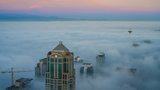 Photos: Blanket of fog makes for spooky, dramatic scenes around Seattle