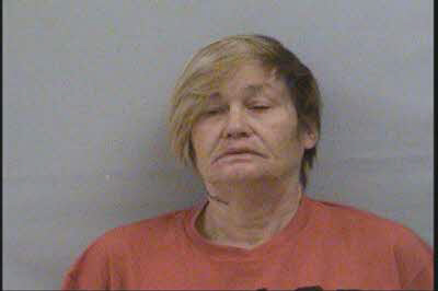 Allison Michelle Smith, 51, of Souther Road in Old Fort, is charged with one count each of conspiracy to traffic methamphetamine and continuing a criminal enterprise. She is being held on a $5 million bond. (Photo: McDowell County Sheriff's Department)<p></p>