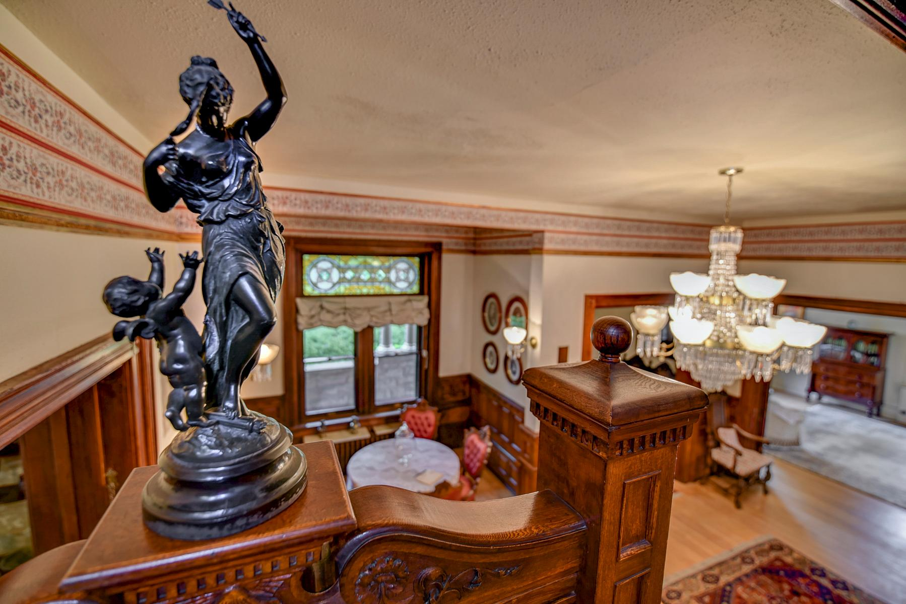 Never before on the market. For over 125 years, the Moore-­Cunningham Queen Anne mansion on Warm Springs Avenue in Boise has been owned exclusively by one family. Untouched by time and replete with character and authentic details, the home has retained the classic appeal of a bygone era as it remains remarkably unaltered. This home was the first on Warm Springs Avenue to utilize the area's natural geothermal water, which is still in use today for heating both house and pool. For info call Paige Shafer, 842-8301) (Courtesy Photo)