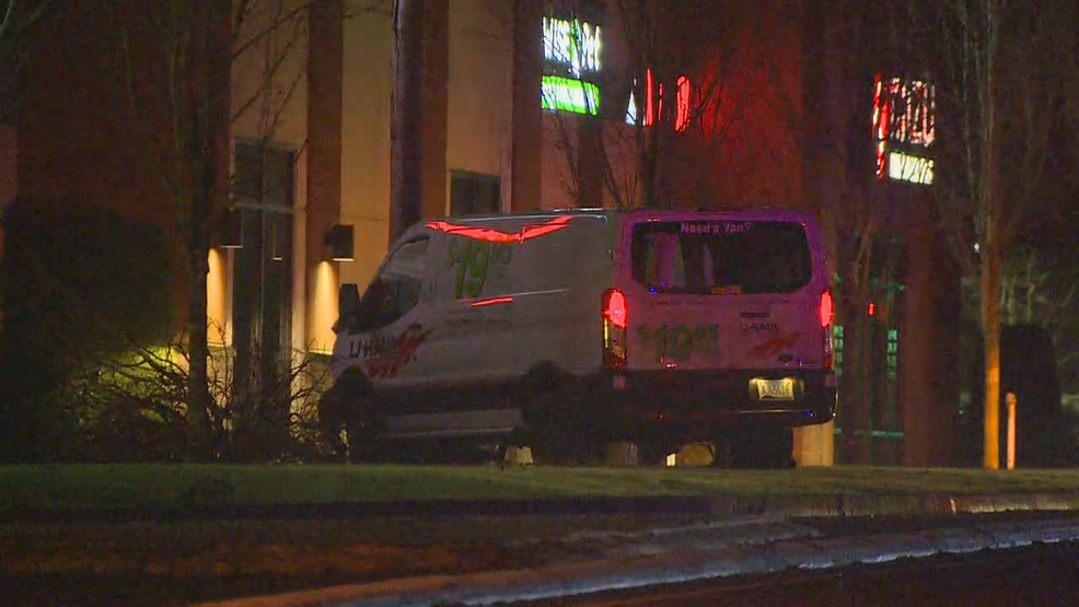 High speed chase ends with van crashing into a power pole in Covington