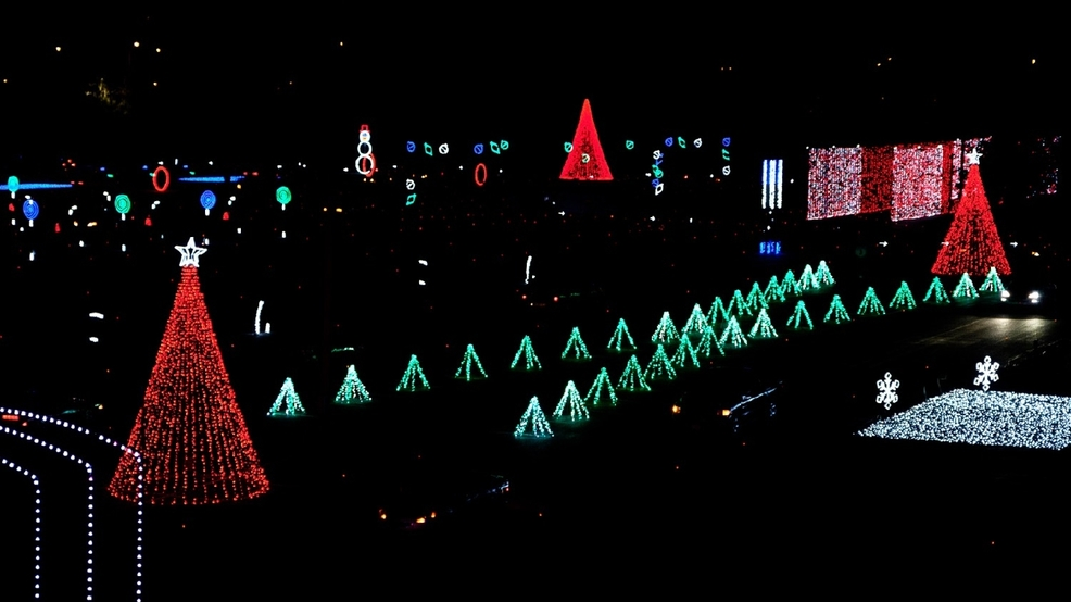 there are over a million led lights at the coney island christmas nights of lights