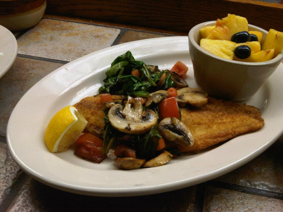 One of the many delicious entrees to be had at Through the Garden in Blue Ash. (Image: provided)
