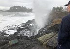 Waves near Depoe Bay on Thursday, January 18, 2018 - Photo from depoe Bay Fire District - 3.jpg