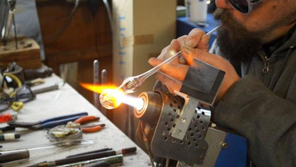 Behind the Scenes: A look at glass blowing