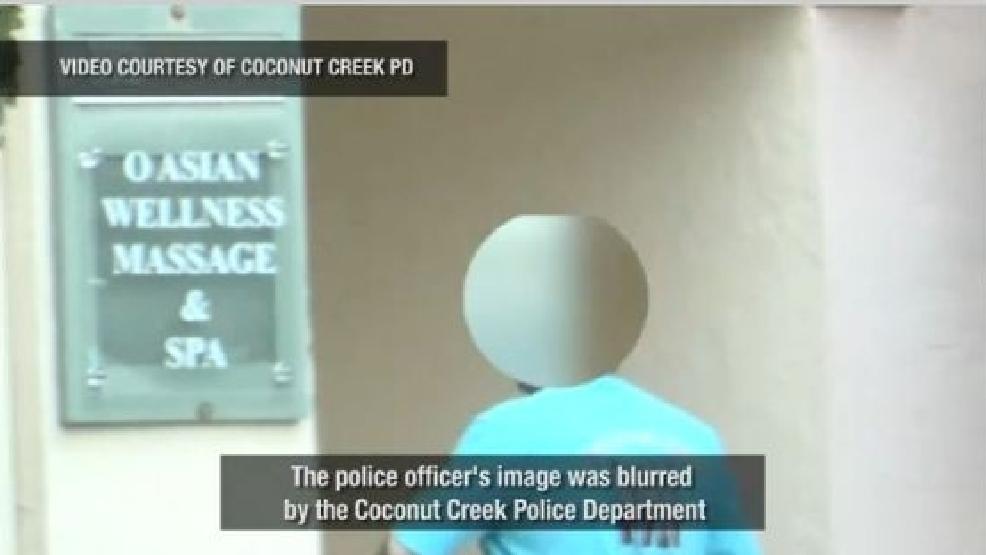 Hidden Camera Records Florida Cop Receiving Illegal Massage