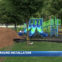 New playground installation in Wheeling