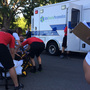 Girl OK after being run over by trailer at Dairy Days parade in Meridian