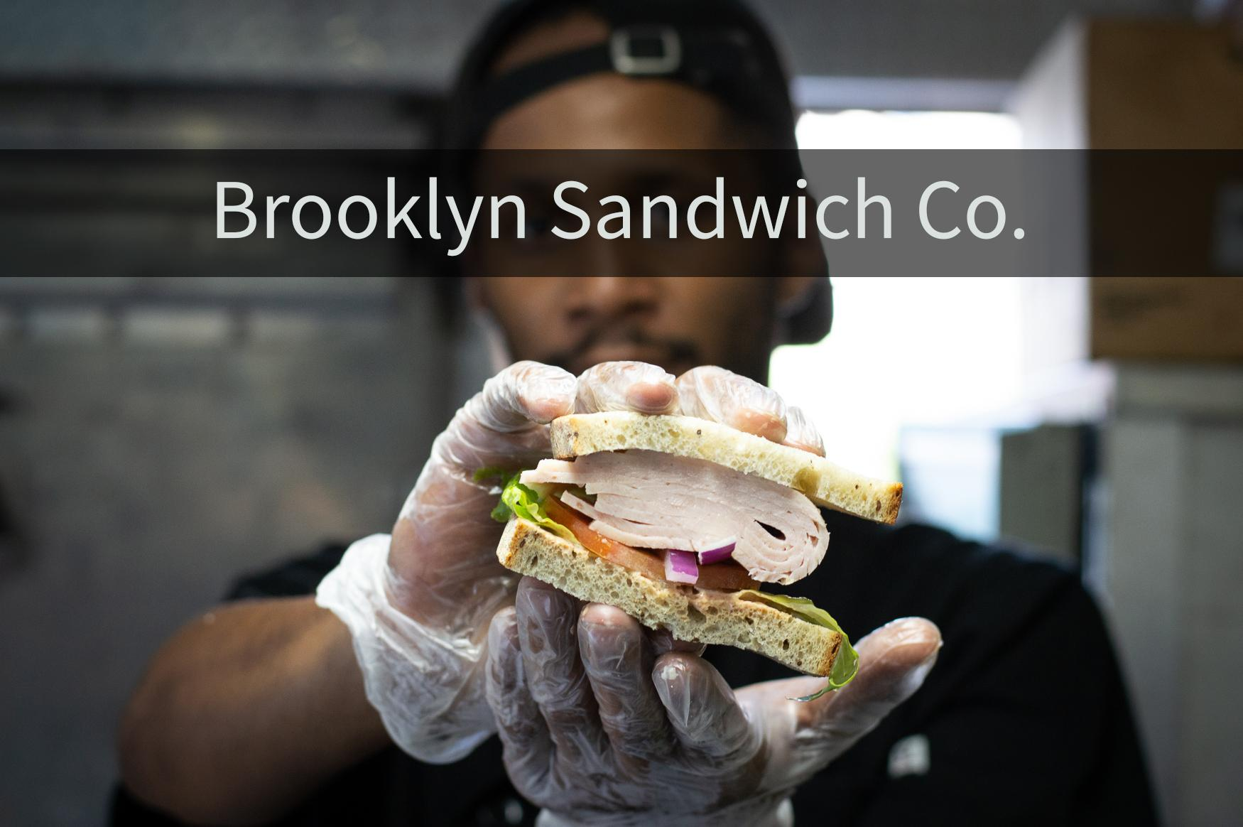 "Brooklyn Sandwich Co. is a food truck in downtown D.C., or as manager, Aharon Levy puts it, ""An upscale deli on wheels.""{ }(David Fisher/DC Refined)"