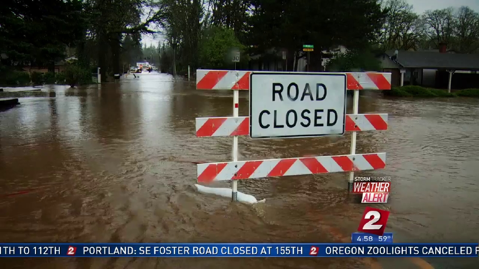 Monday was third wettest day in PDX history