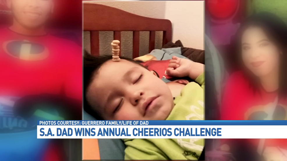 S A Dad Wins 2nd Annual Cheerios Challenge Woai