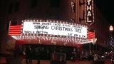 Michigan students ascend 5-story Singing Christmas Tree