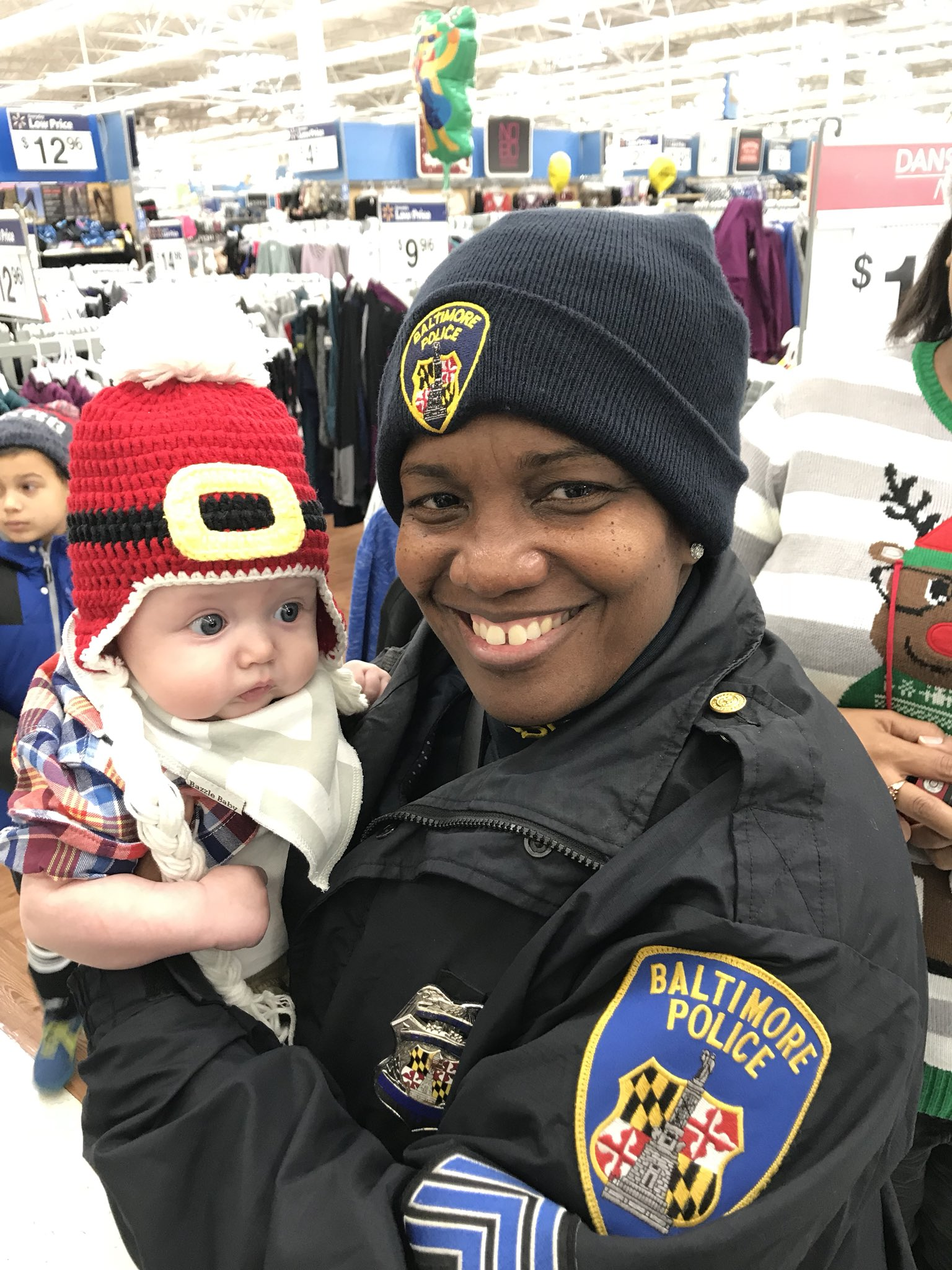 Baltimore Police Shop With A Cop; photo courtesy of Baltimore Police Department{&amp;nbsp;}<p></p>