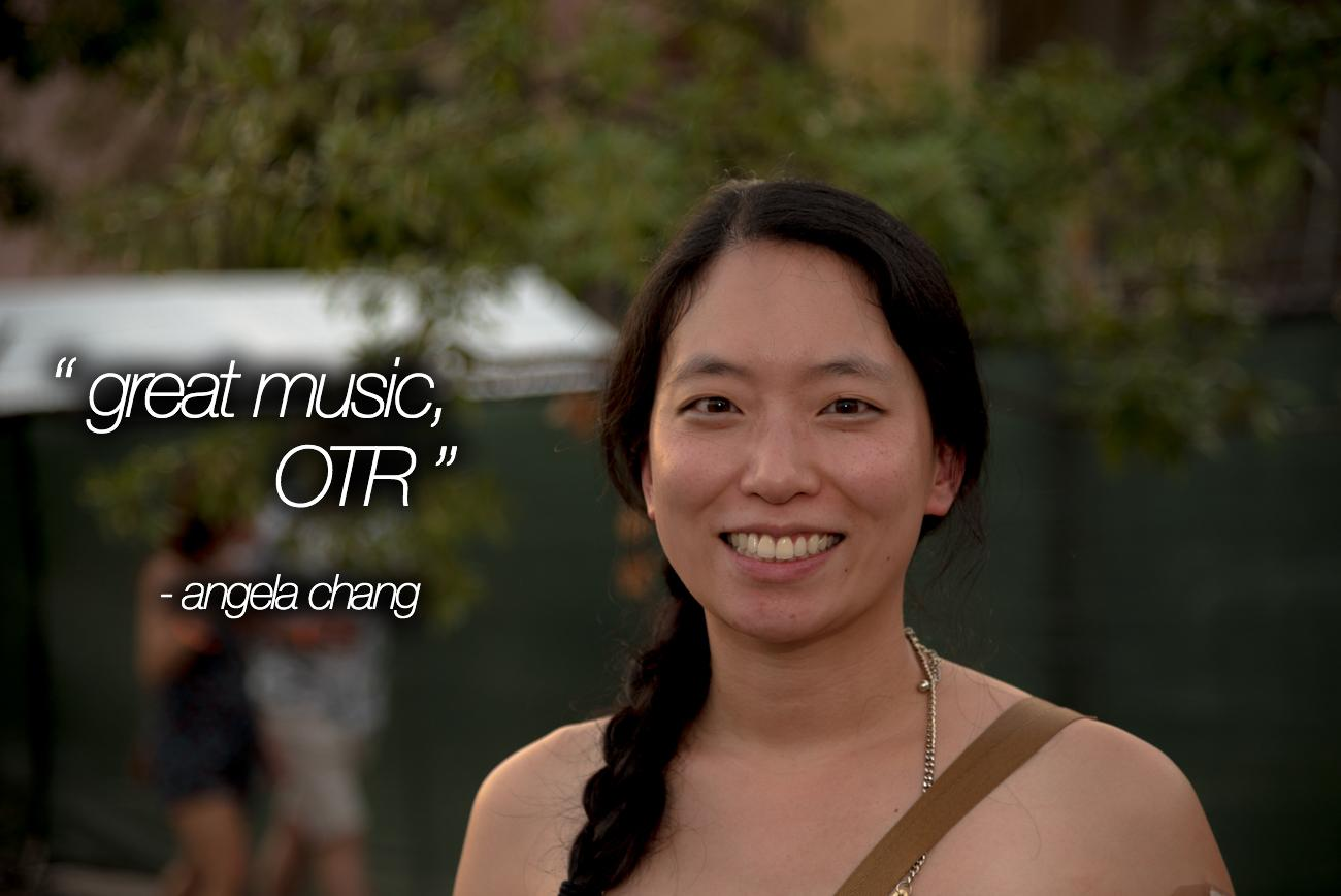 """Great Music, OTR"" - Angela Chang / Image: Phil Armstrong, Cincinnati Refined"