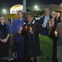 Edgewood community holds candlelight vigil after shooting that left 3 dead