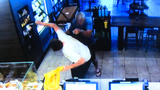 Caught on camera: Tables turn on would-be Starbucks robber, police say