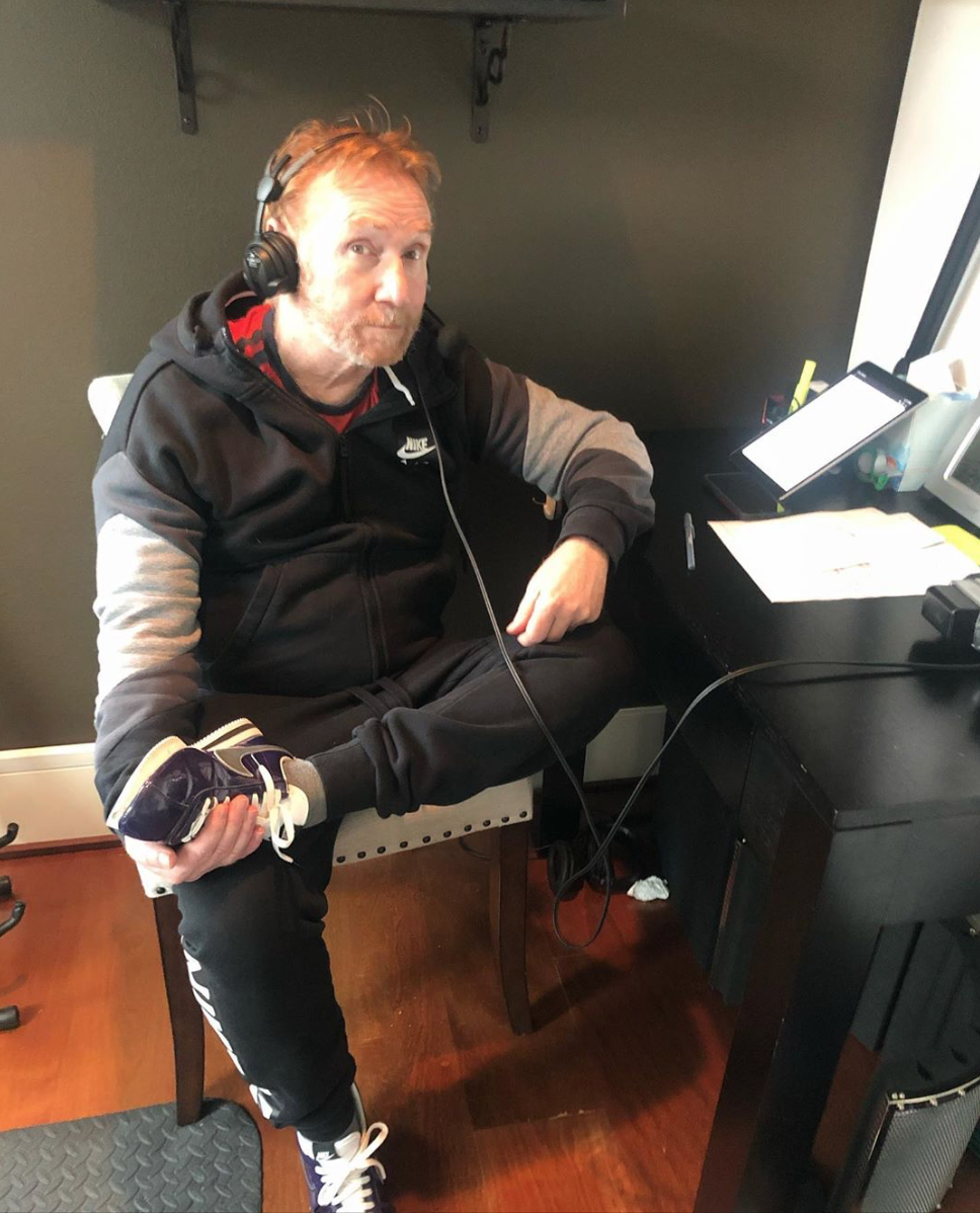 We're all working from home these days, including Seattle based DJ/actor/musician Danny Bonaduce. He became a bona fide star in the 1970's thanks to his role as wisecracking middle kid 'Danny Partridge' on the hit show 'The Partridge Family.' Since then, he's never slowed down! (Photo: Instagram/@dannykzok)