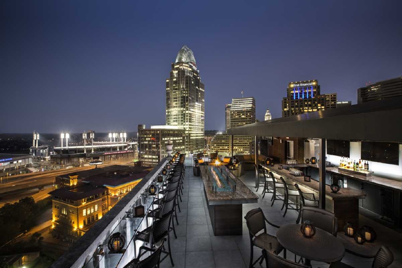 Top of the Park -- located in Downtown Cincinnati at 506 E 4th Street (45202). / Image courtesy of Top of the Park