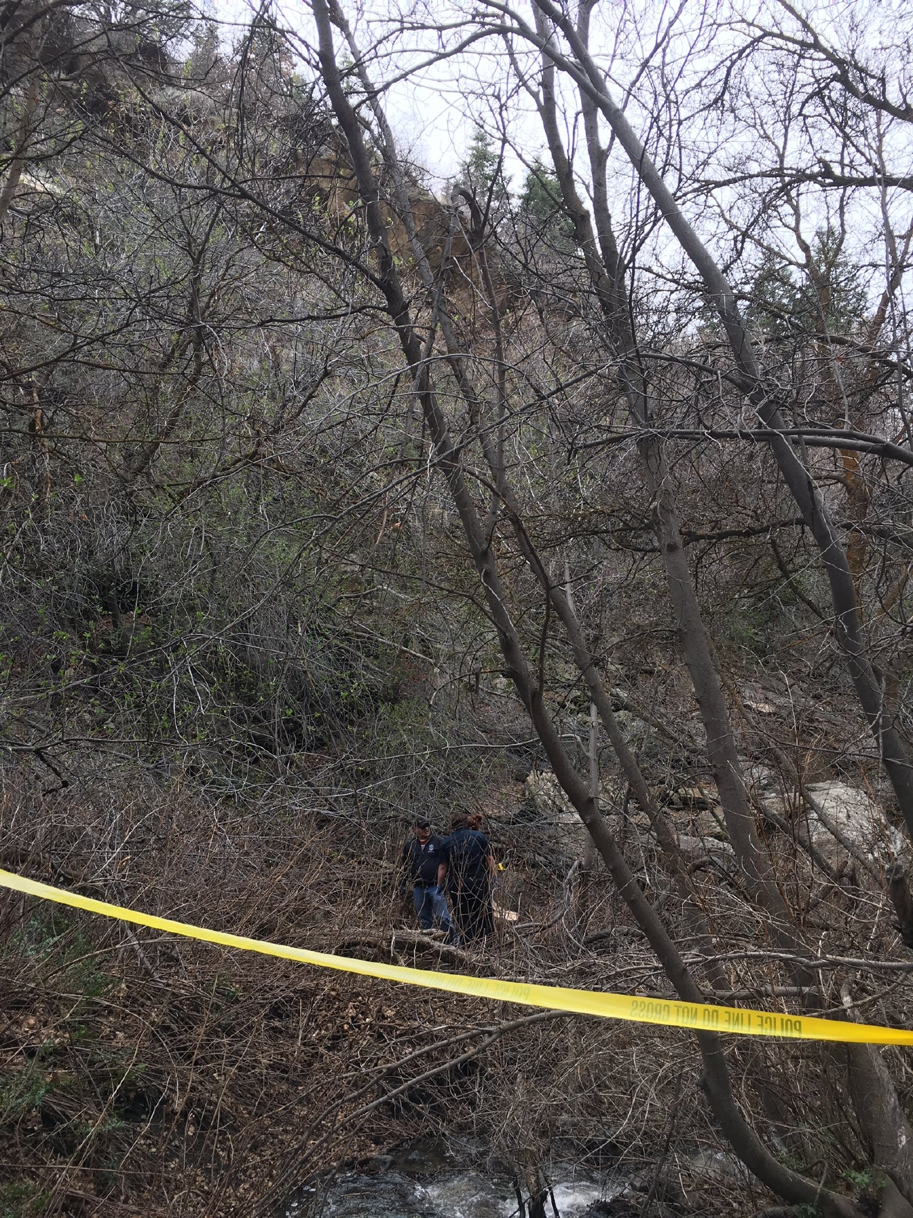Human remains found in Neffs Canyon. (Photo: UPD)
