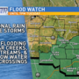 More rain in the forecast brings additional flooding concerns Tuesday