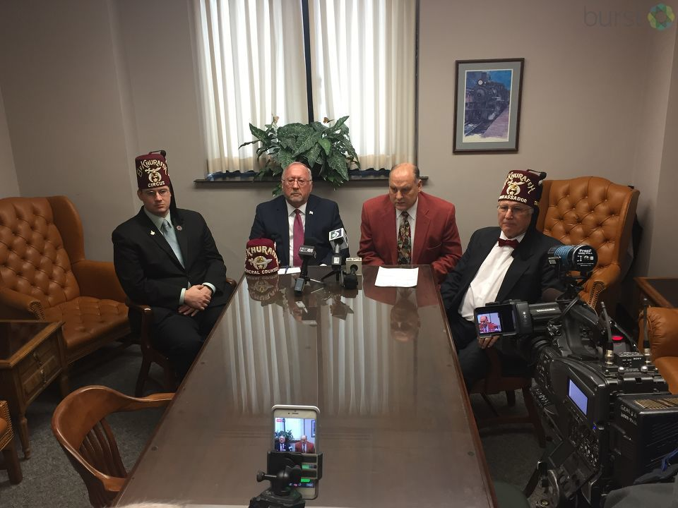 Genesee County Clerk John Gleason is demanding politicians return tainted campaign funds after a Shriner's ex-chief of staff donated fraudulent funds to their campaigns. (Photo Credit: Mike Horne)