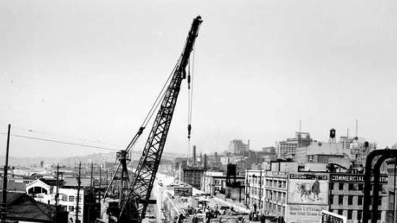 A short history of the construction of the Alaskan Way Viaduct (KOMO/SeattlePI.com)Thumbnail