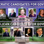 Gubernatorial candidates prepare watch parties for election night